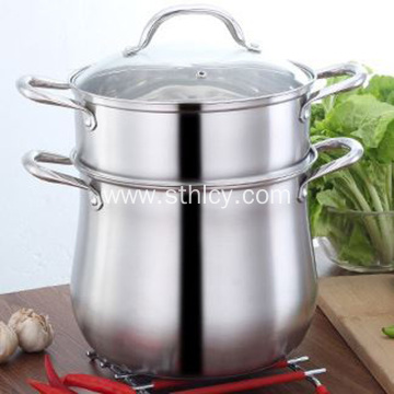 304 Stainless Steel Household Large Capacity Saucepan