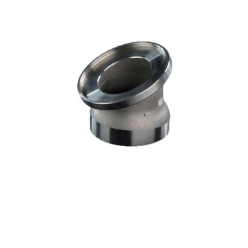 Steel CNC Machined Joints for Exhausting Pipe
