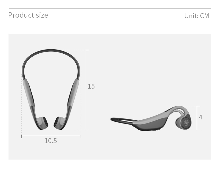 bone conduction headphone