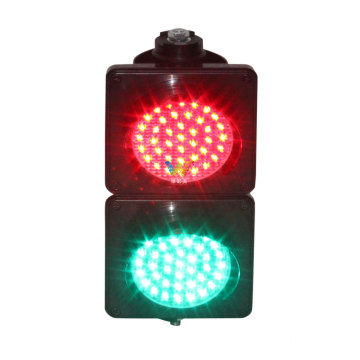 Intelligent  Red Green 100mm Led Traffic Light