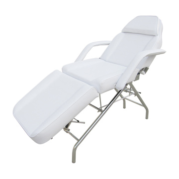 Salon Massage Bed White Spa Equipment