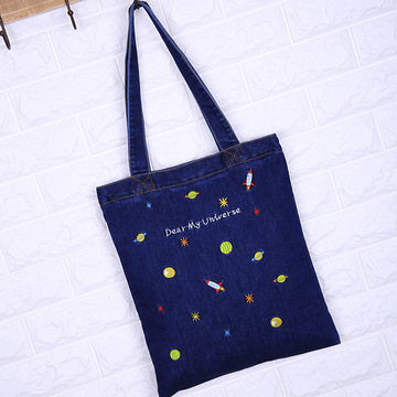 Bags New Special Embroidery Canvas Women Shoulder
