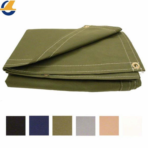 Hot sale Stronger Polyester Canvas Tarps