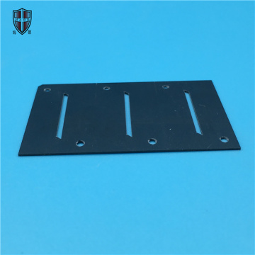 insulated heat sink black zirconia ceramic substrate