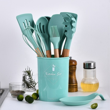 Heat Resistant Non-Stick Cooking Silicone Kitchen Utensil
