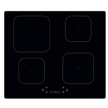Black Glass Induction Hobs Electrolux 60cm