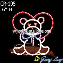 Pageant Crown Little Bear Tiaras CR-195
