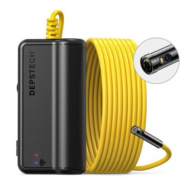 DEPSTECH Wireless WiFi 1080P Endoscope Camera IP67 Waterproof Dual Camera Underwater Pipe Drain Sewer Duct Inspection Camera