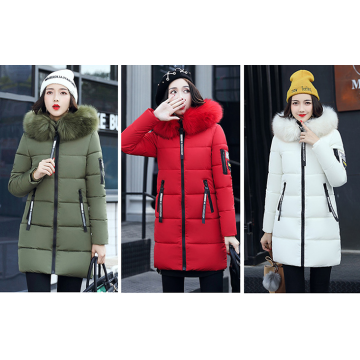 Hood Parka Overcoat Long Jacket