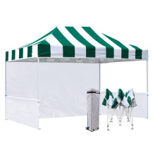 Stripes Pop Up Canopy 10x15ft Gazebo Store Tent