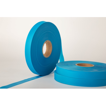 Blue non-woven sealing tape for protective clothing