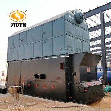 SZL15-2.45-M Industrial WaterTube Wood Chips Steam Boiler