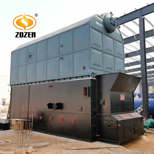 Industrial Steam Output Horizontal 10T Biomass Boiler