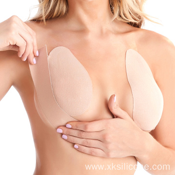 strapless backless push up bra nipple covers