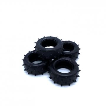 Standard Molded Rubber Tires For Toy Cars