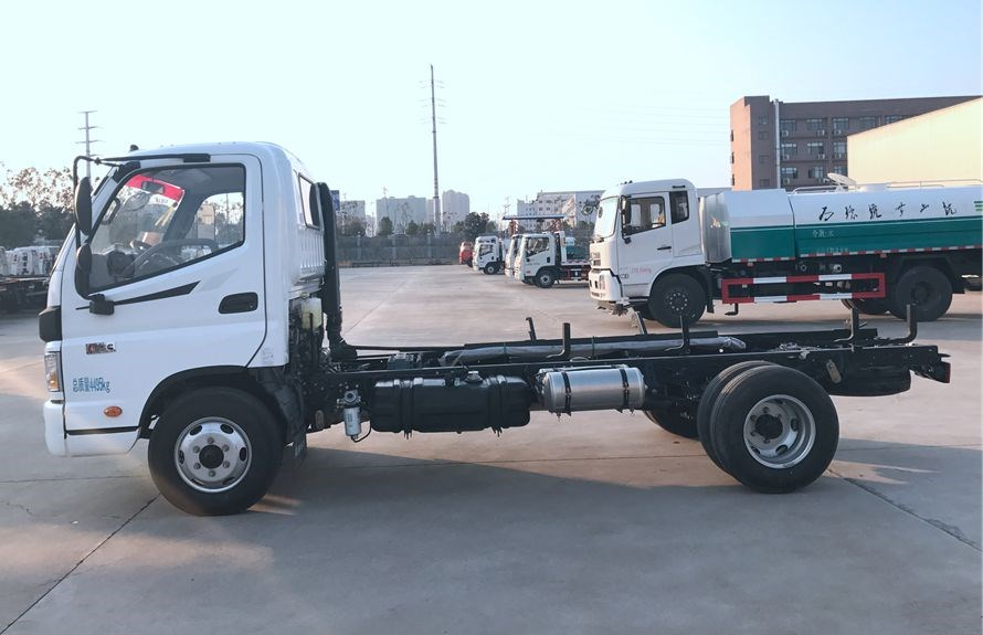 flatbed towing vehicles chassis 2