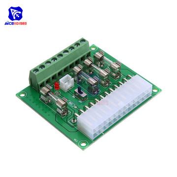 diymore Soldered/Solderless ATX Power Adapter ATX Computer PC Power Board Power Supply DC Plug Connector
