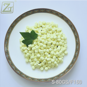 Vulcanization Agent Sulfur S-80 for Unsaturated Rubber