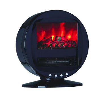 PORTABLE FIREPLACE HEATER with fireflame