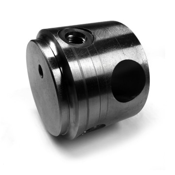 Steel Hydraulic Cylinder Piston CNC Machined Parts