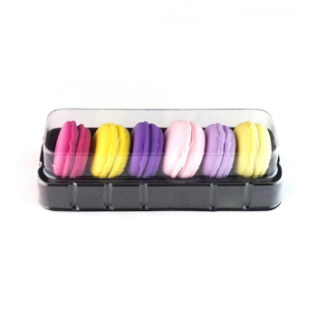 6 macaron packaging box food blister tray