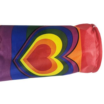 Custom National Flag Wind Sock Rainbow Windsock