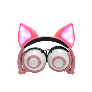 Presentes LED Fox ear headphone for kids