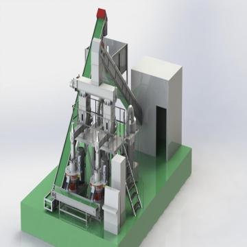 Pellet Production Line For Rice Husk Stalk Straw