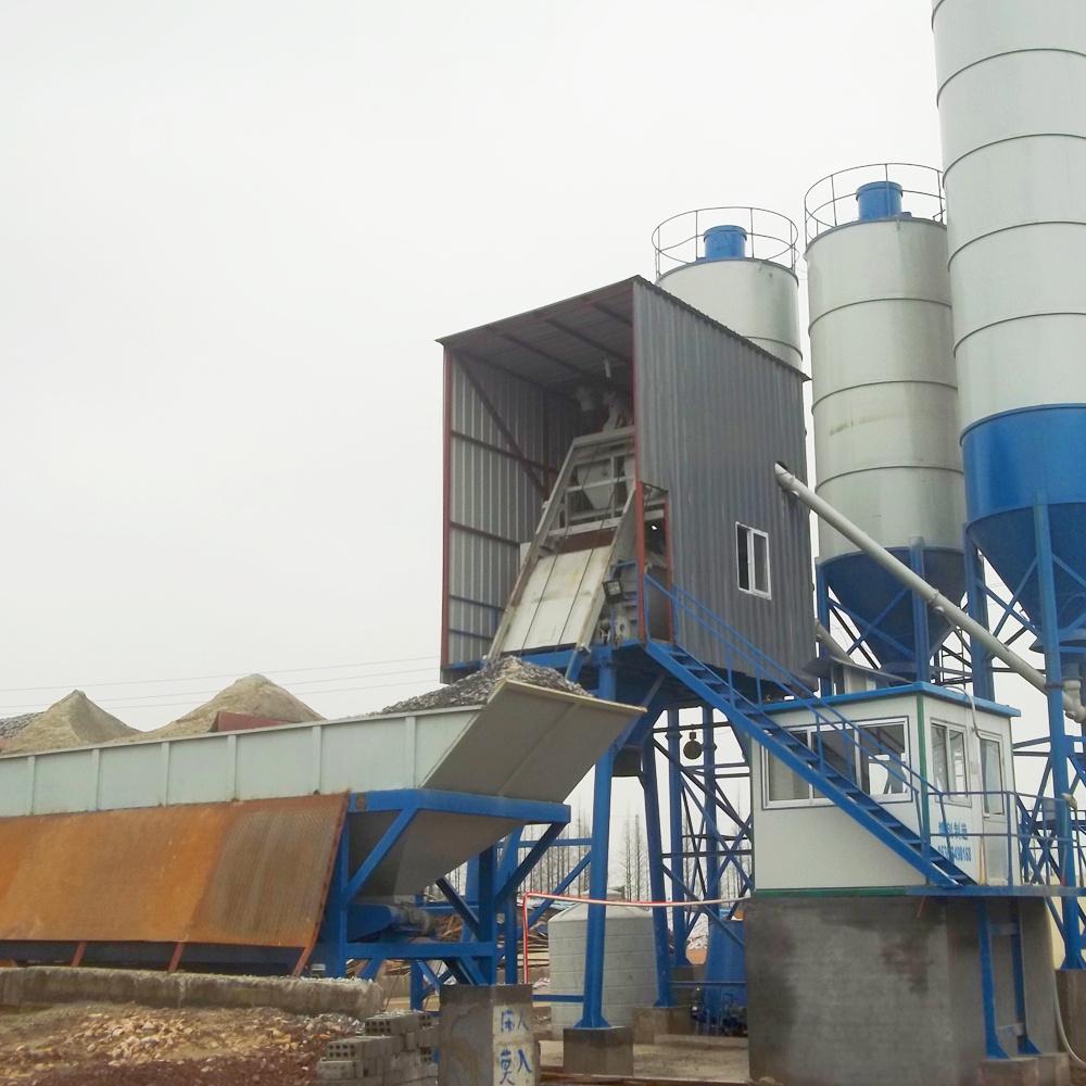 Construction use ready bucket concrete batching plant