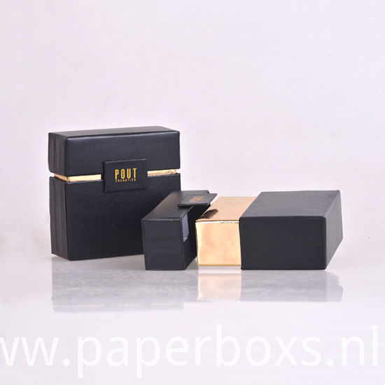 Wholesale Custom Black Printed Cardboard Packaging