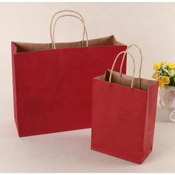 Custom Kraft Gift Paper Bag with Handles