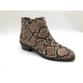 Women's  Low Chunky Block Stacked Heel
