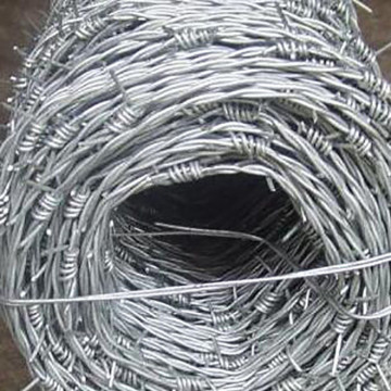 Galvanized or PVC coated Barbed wire Cheap