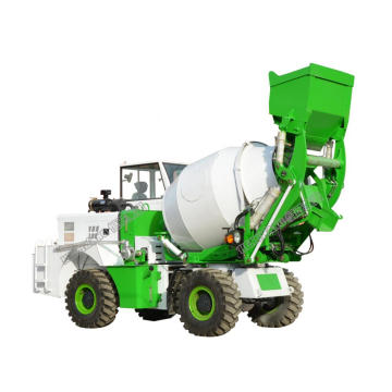 Portable Self Loading Concrete Mixer with Pump