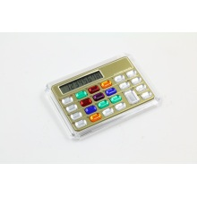 8 Digits Colorful Bling Crystal Modern Calculator