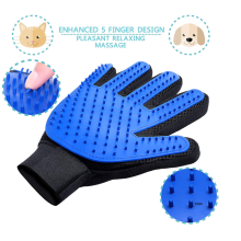 2 Gentle Pet Grooming Gloves