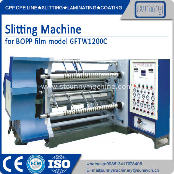 Slitting machine standard size roll to roll