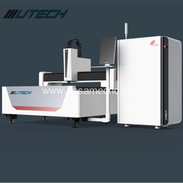 1000W fiber laser cutting machine for metal sheet