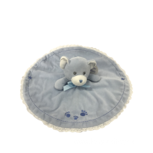 Plush Bear Comforter Blue