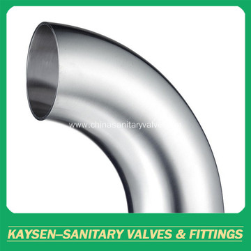 BPE Sanitary elbow 90 degree welded