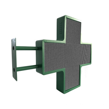 Double Side Cross Pharmacy LED Display