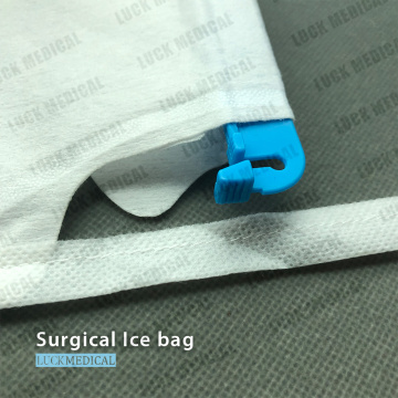 Refillable Ice Bag With Clamp