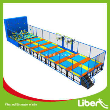 Big Super Inside Colorful Trampoline for Sale