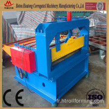 Simple metal sheet leveling and cut to length machine