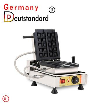 Stainless steel electric waffle making machine
