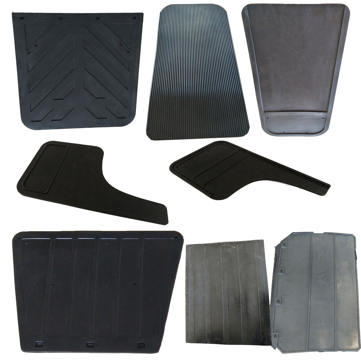 Black Heavy Duty Rubber Splash Guard