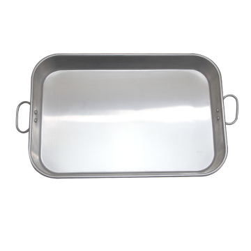 Metal Roasting Pan with Clips