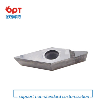 CNC indexable turning tool PCD diamond tips