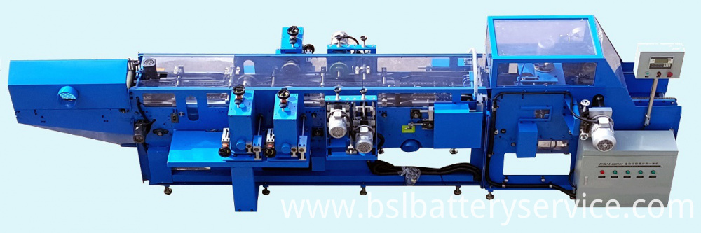 Plate Cutting and Brushing Machine