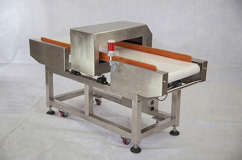 metal detector for seafood industry